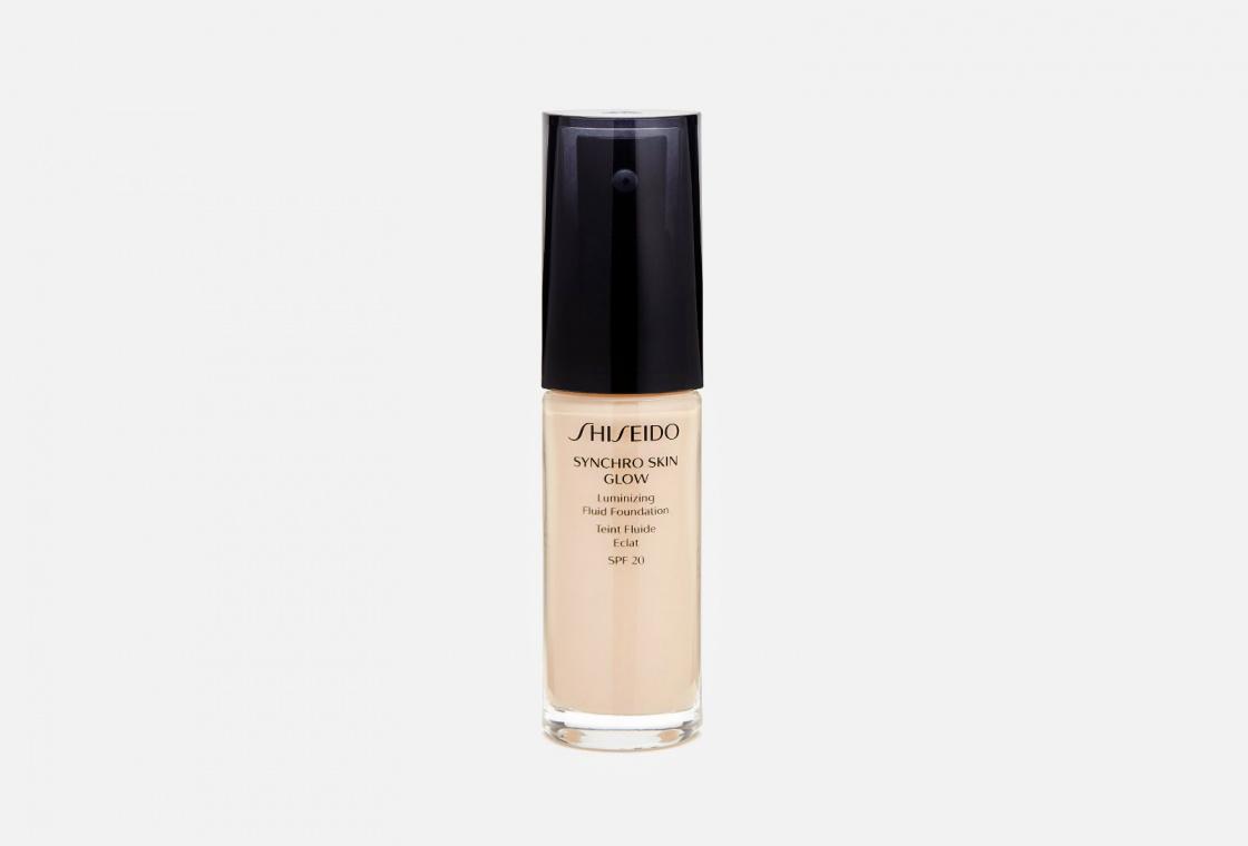 Тональное средство-флюид с эффектом естественного сияния Shiseido Synchro Skin Glow Luminizing Fluid Foundation