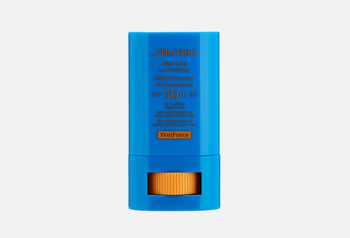 Прозрачный солнцезащитный стик Shiseido Global Suncare Clear Stick Uv Protector
