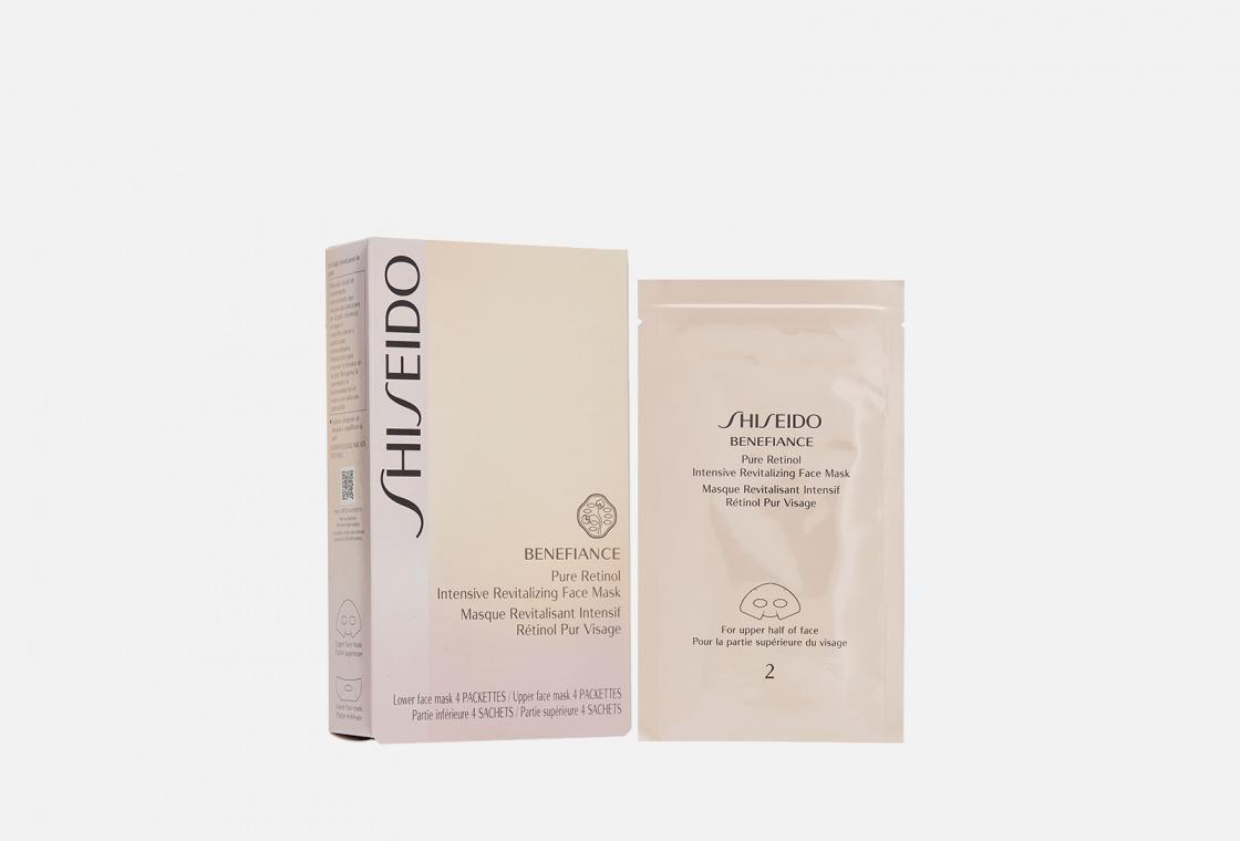 Восстанавливающая маска для лица на основе чистого ретинола Shiseido Benefiance Wrinkleresist24 Pure Retinol Intensive Revitalizing Face Mask