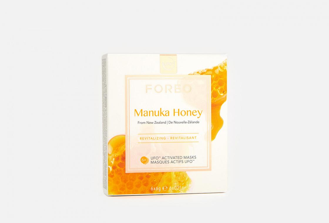 Смарт-маска для восстановления кожи 6шт. FOREO Manuka Honey