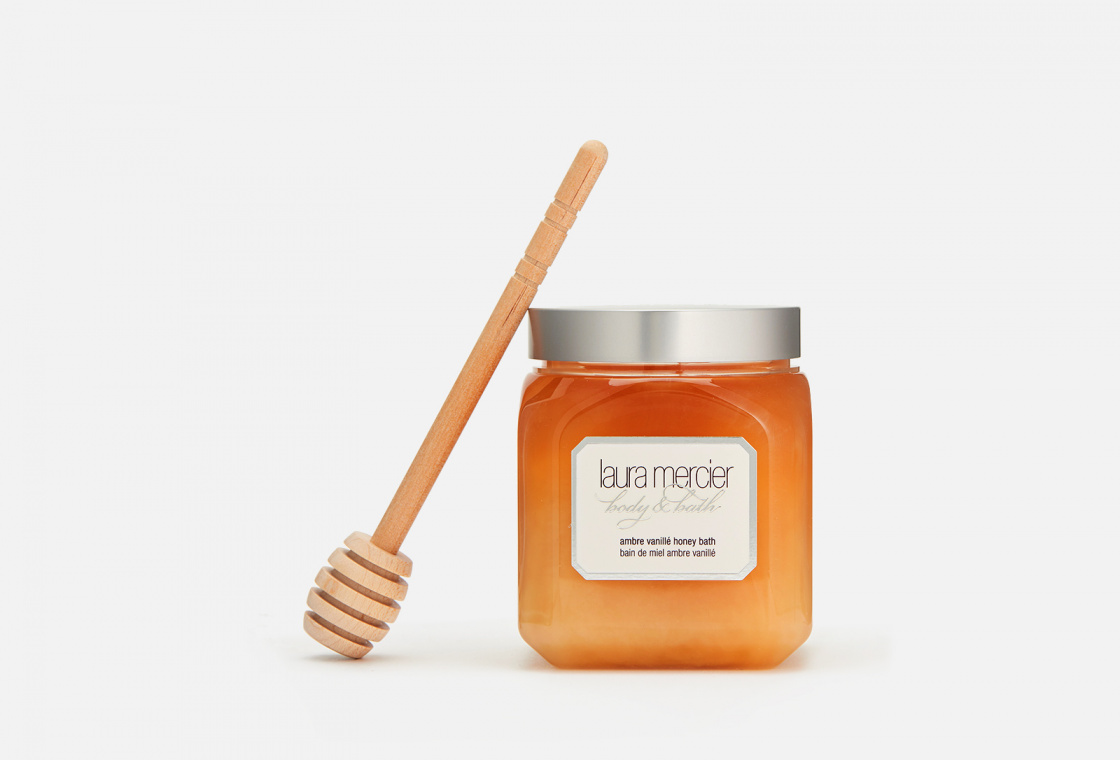 Тающий крем для ванны Laura Mercier Ambre Vanillé Honey Bath