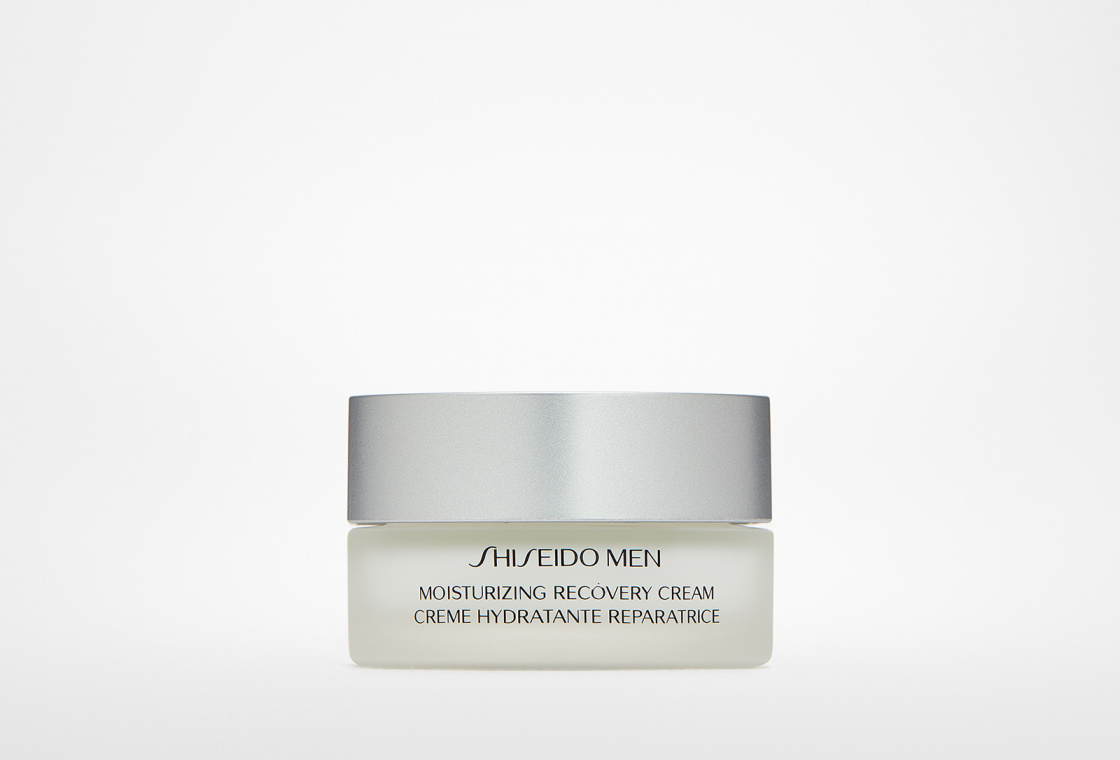 Увлажняющий, восстанавливающий крем Shiseido Men  Moisturizing Recovery Cream