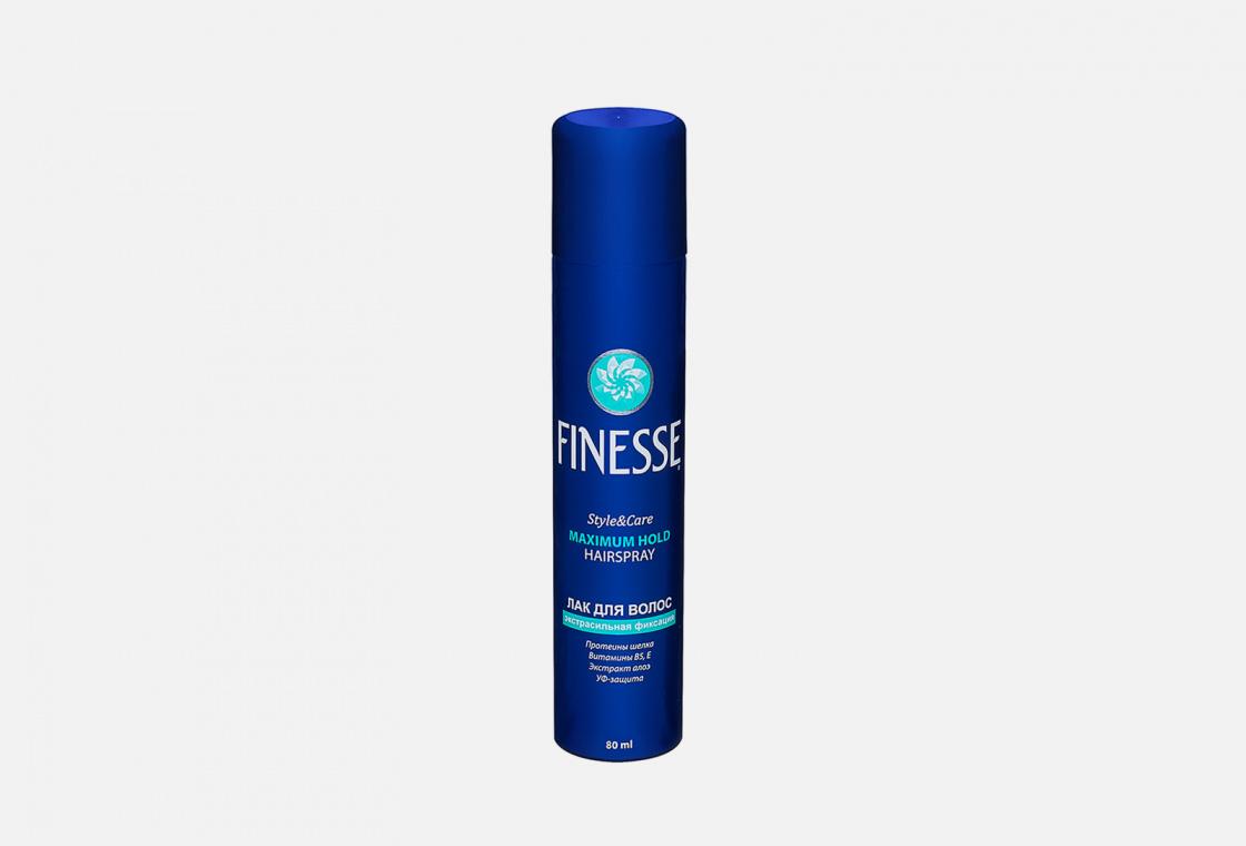 Лак для волос Экстрасильной фиксации Finesse Hairspray Maximum Hold