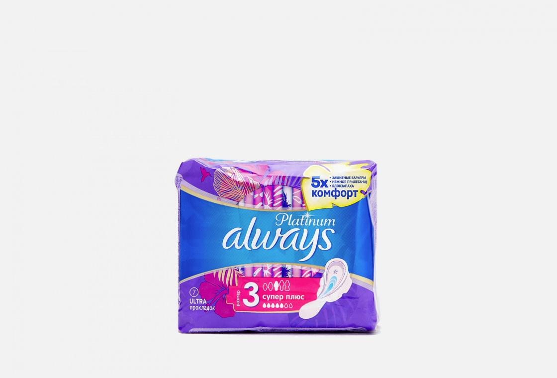 Гигиенические прокладки с крылышками Always Ultra Platinum Collection Super Plus Single