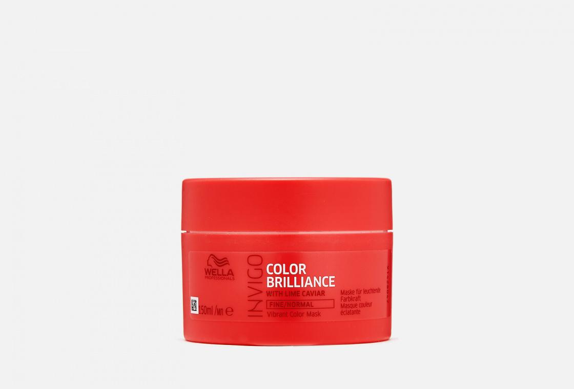 Маска для окрашенных тонких волос Wella Professionals Invigo Color Brilliance Vibrant Color Mask