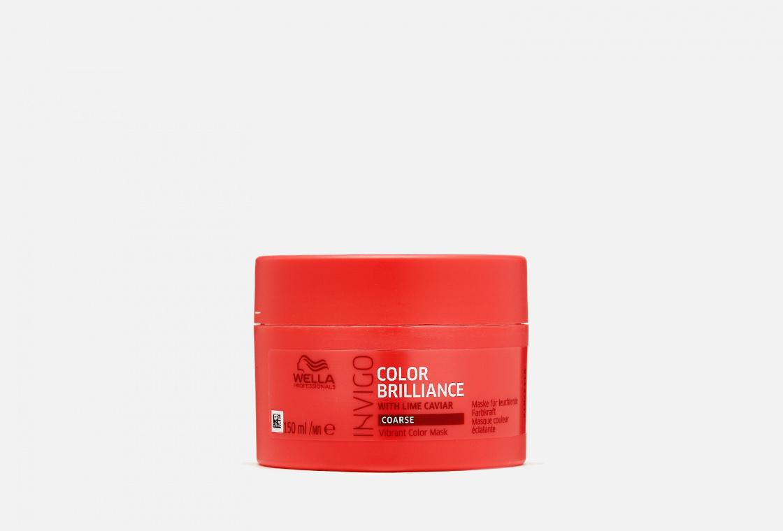 Маска для окрашенных жестких волос  Wella Professionals Invigo Color Brilliance Vibrant Color Mask