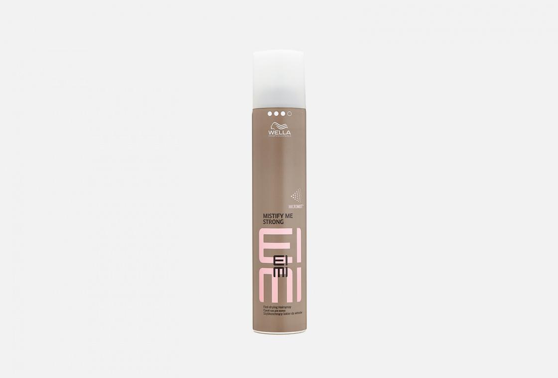 Сухой лак сильной фиксации Wella Professionals EIMI Mistify Me Strong Fast-Drying Hairspray