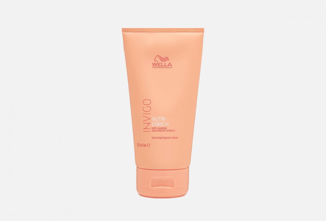 Экспресс-маска для волос горячая Wella Professionals Nutri-Enrich