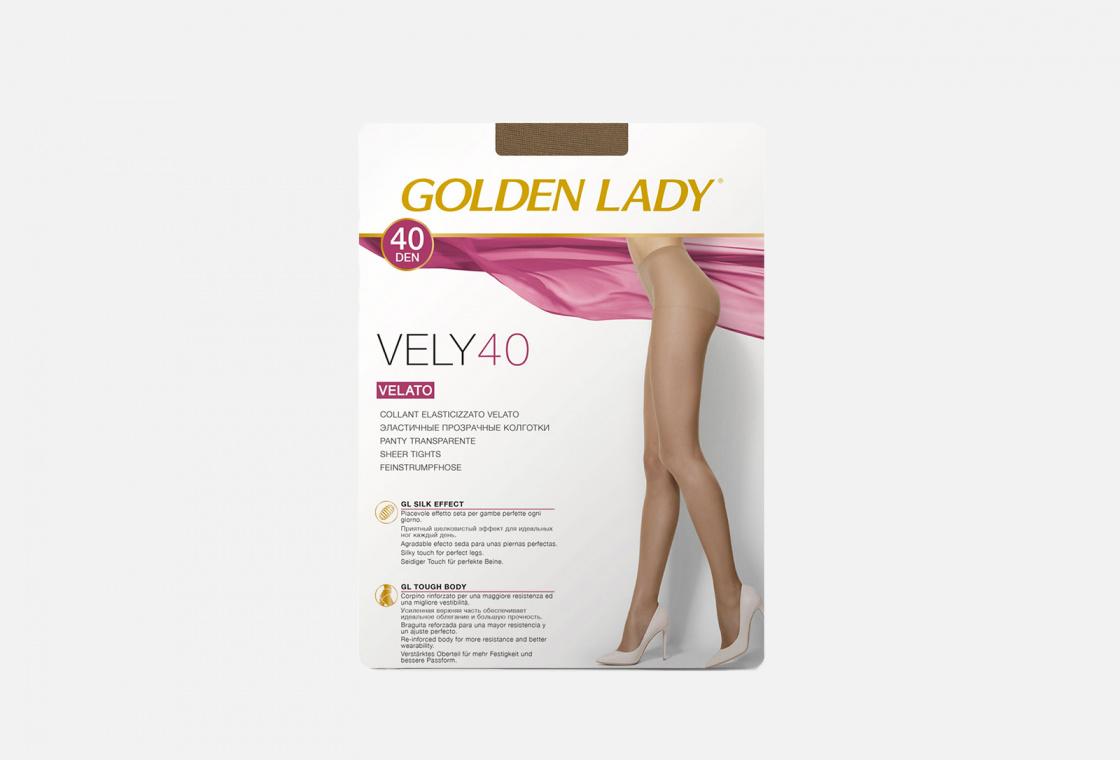 колготки 40 den Golden Lady VELY melon
