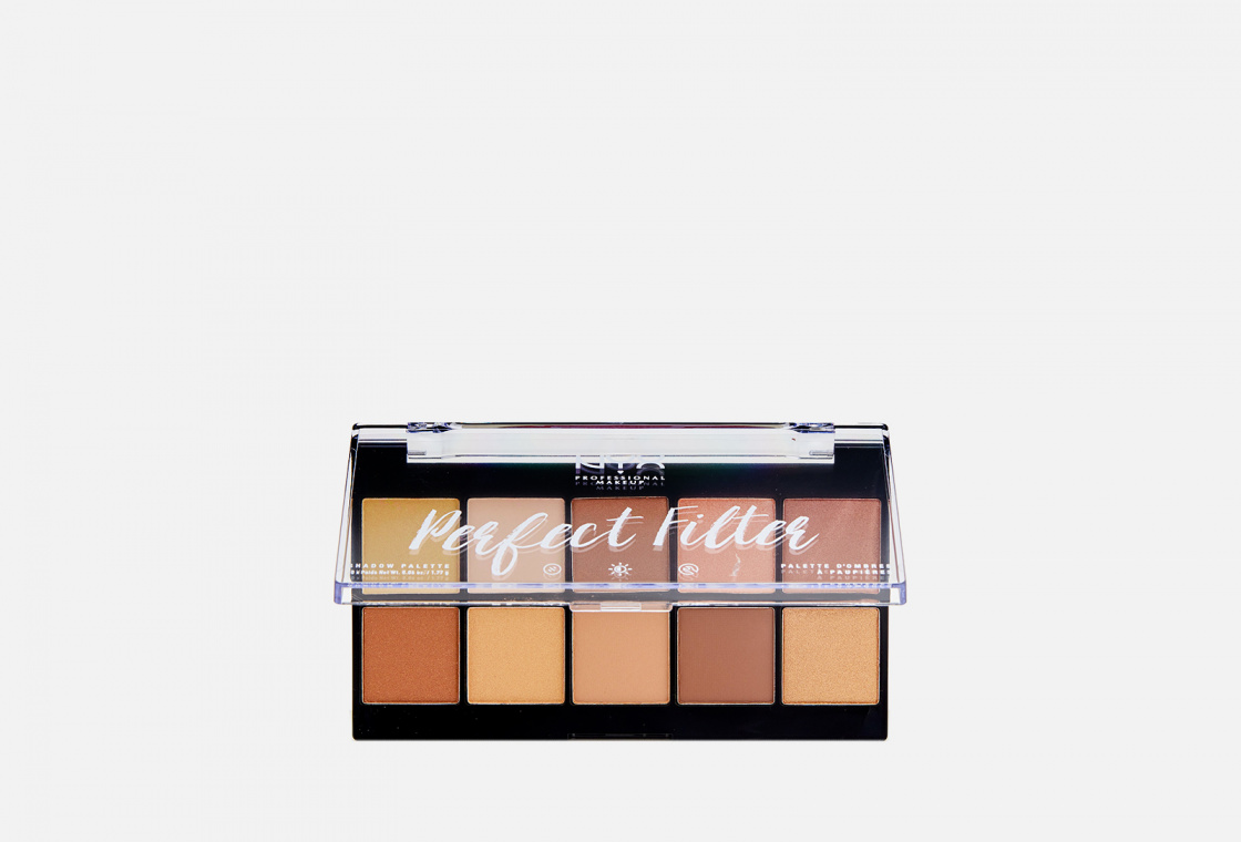 ПАЛЕТКА ТЕНЕЙ NYXPROFESSIONAL MAKEUP PERFECT FILTER SHADOW PALETTE