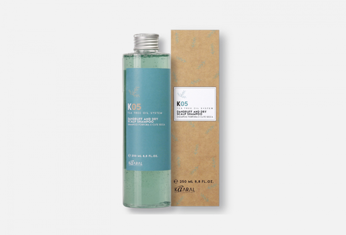 ШАМПУНЬ ОТ ПЕРХОТИ ДЛЯ СУХОЙ КОЖИ ГОЛОВЫ Kaaral К05 Dandruff Removing Shampoo