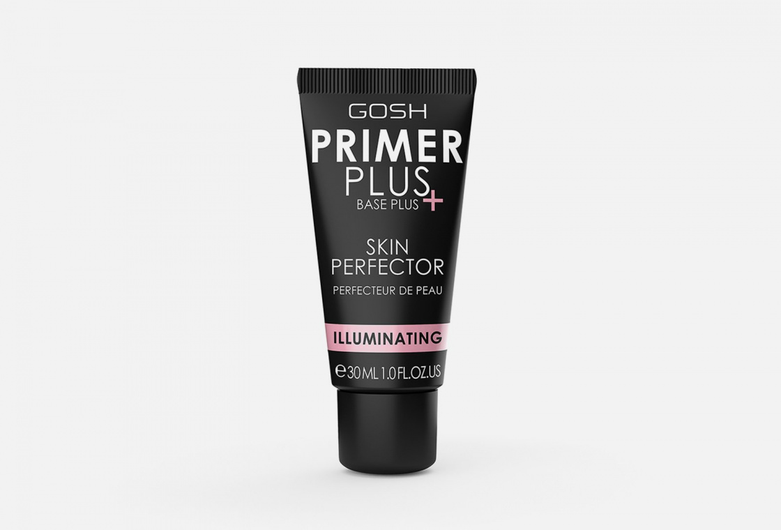 Основа под макияж с эффектом сияния Gosh Primer Plus