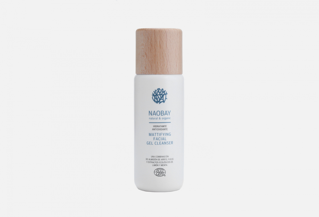 Матирующий очищающий гель для лица  Naobay Mattifying Facial Gel Cleanser
