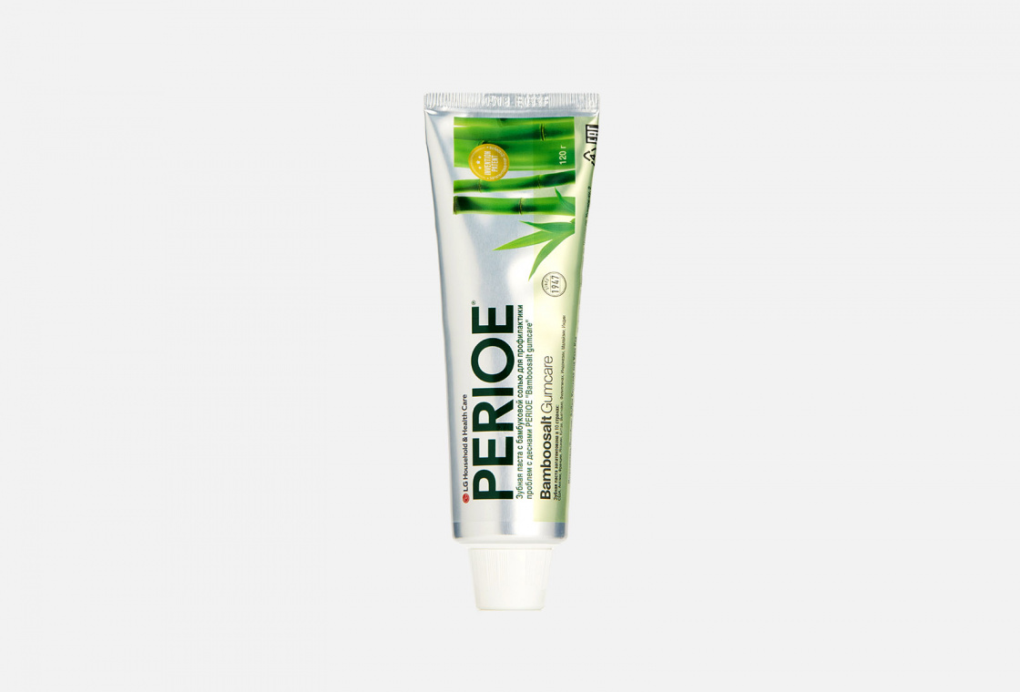 Зубная паста PERIOE Bamboosalt Gumcare
