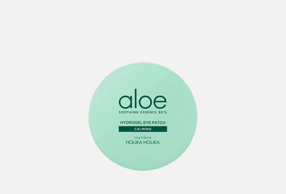 Патчи гидрогелевые для глаз 60шт Holika Holika Aloe Soothing Essence — купить в Москве