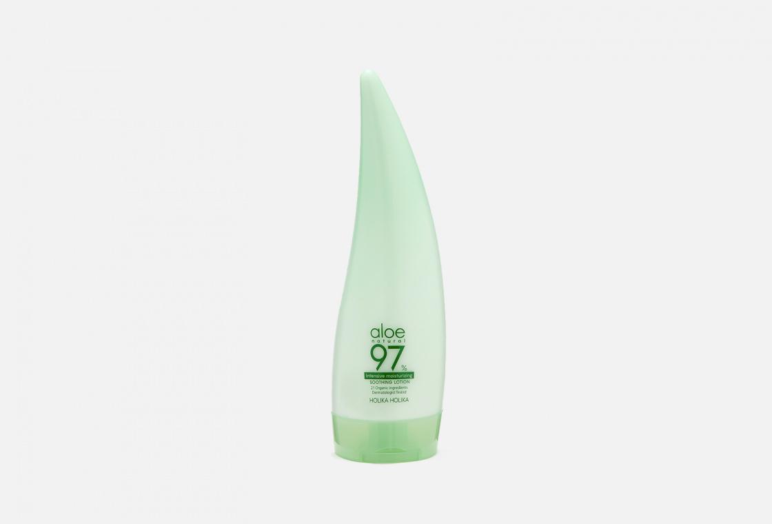 Интенсивно увлажняющий лосьон для лица и тела Holika Holika Aloe 97% Soothing Lotion Emulsion