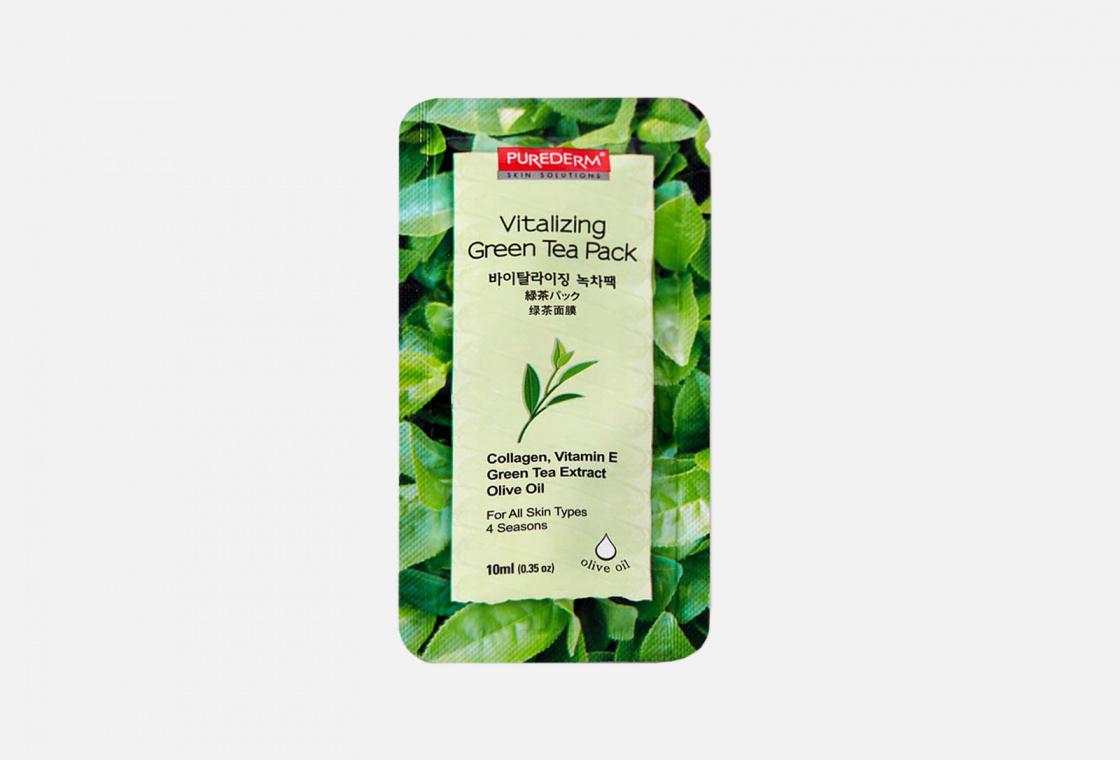 ОСВЕЖАЮЩАЯ МАСКА Purederm green tea