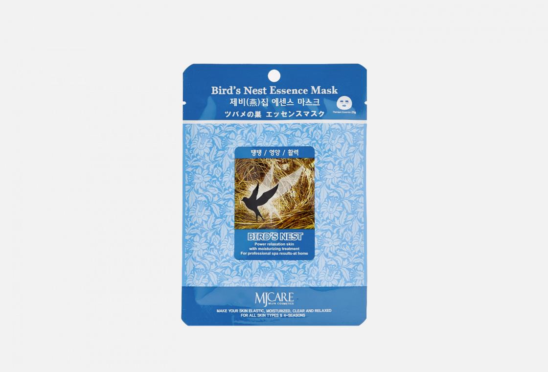 Маска тканевая ласточкино гнездо Mijin Care Bird`s Nest Essence Mask