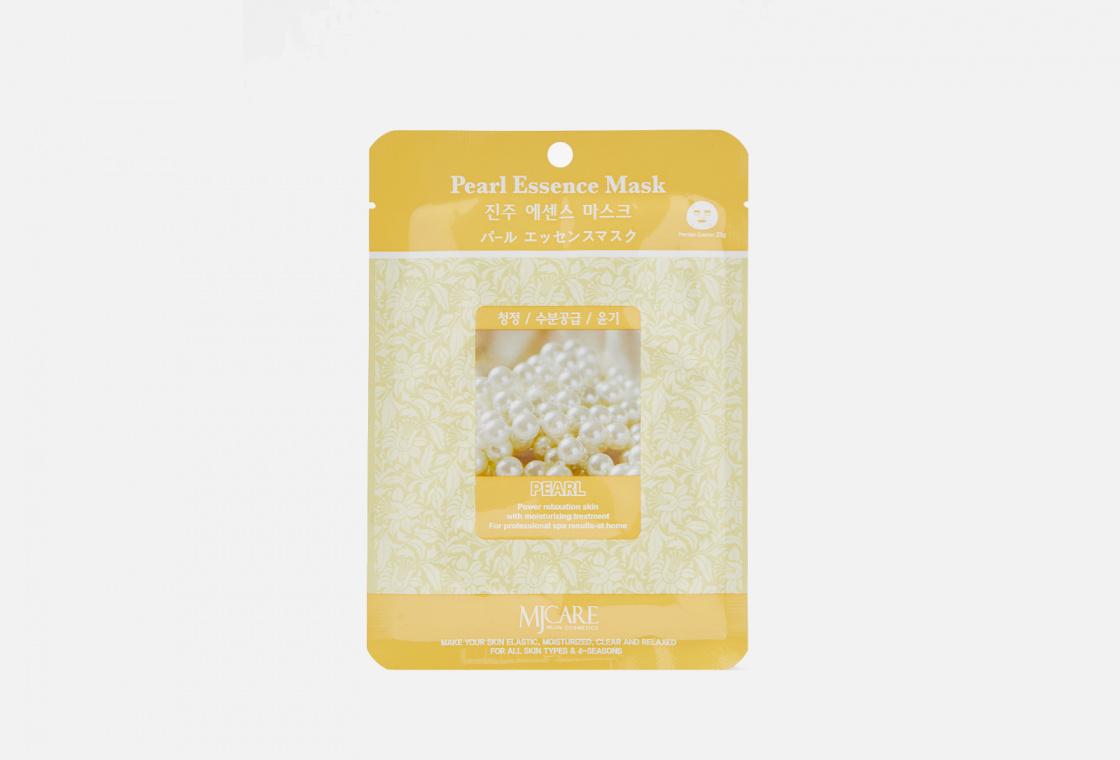 Маска тканевая жемчуг  Mijin Care Pearl Essence Mask