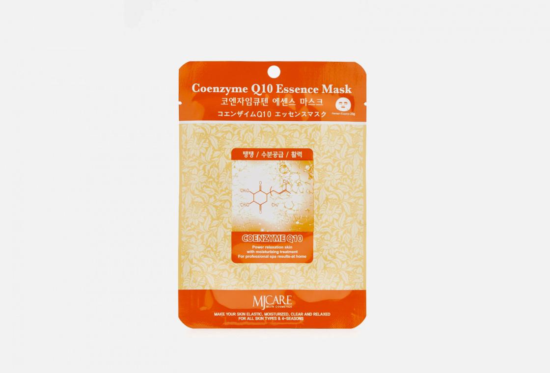 Маска тканевая коэнзим  Mijin Care Coenzyme Q10 Essence Mask