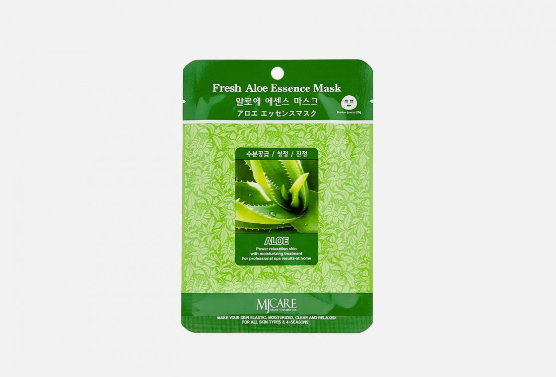 Маска тканевая алоэ Mijin Care Fresh Aloe Essence Mask