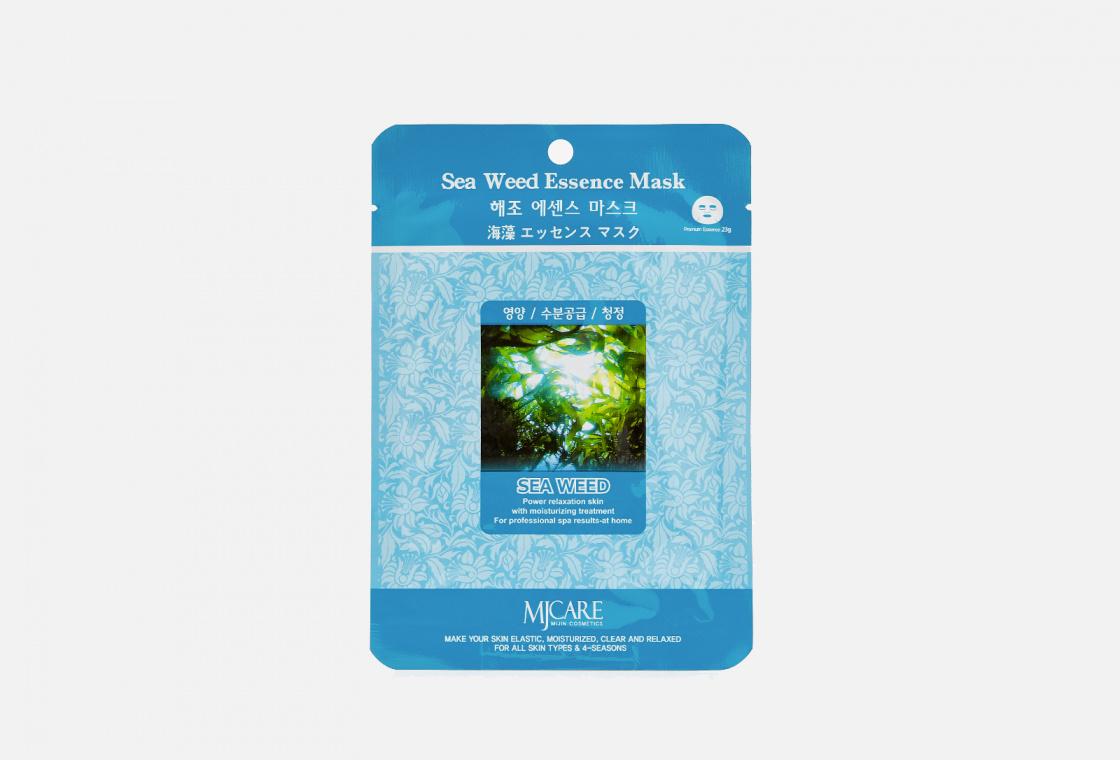 Маска тканевая морские водоросли Mijin Care Sea Weed Essence Mask