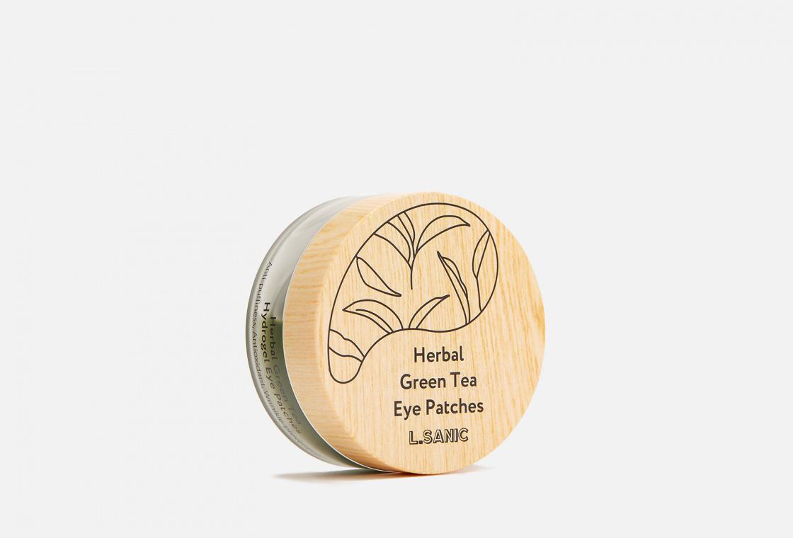 Гидрогелевые патчи с экстрактом зеленого чая L.SANIC herbal green tea