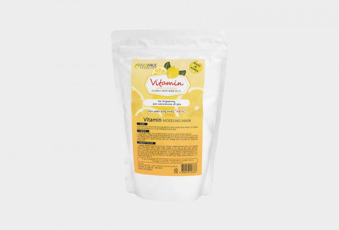 Маска для лица альгинатная с витамином С  Inoface Vitamin Modeling Mask