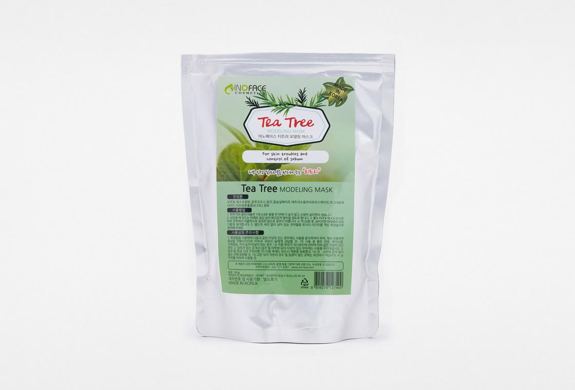 Маска для лица альгинатная с чайным деревом  Inoface Tea Tree Modeling Mask