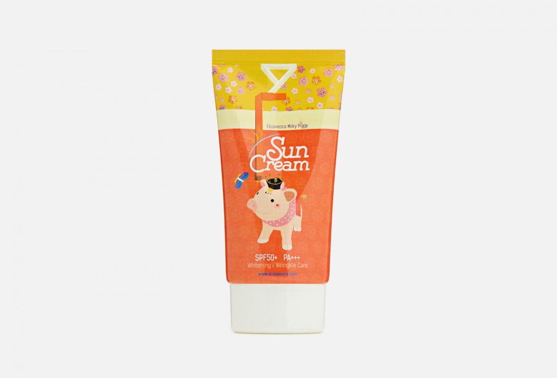 Солнцезащитный крем SPF 50+ Elizavecca Milky Piggy Sun