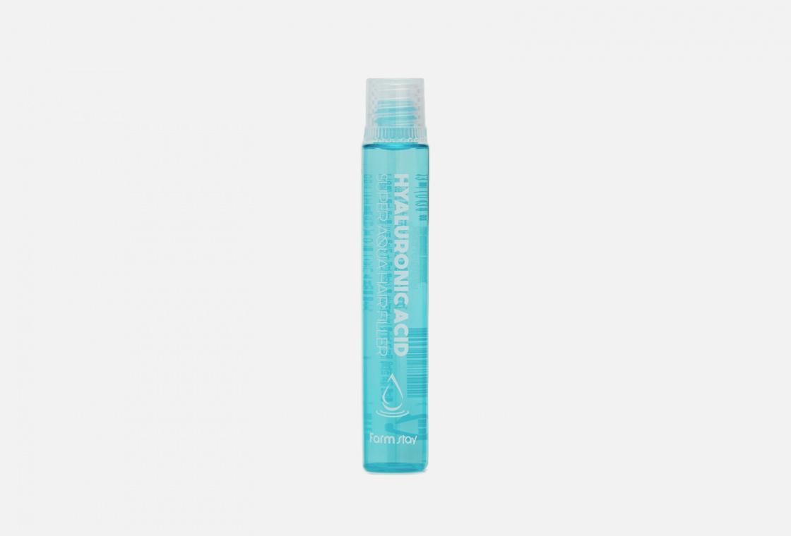 Филлер для волос суперувлажняющий с гиалуроновой кислотой Farm Stay HYALURONIC ACID SUPER AQUA HAIR FILLER