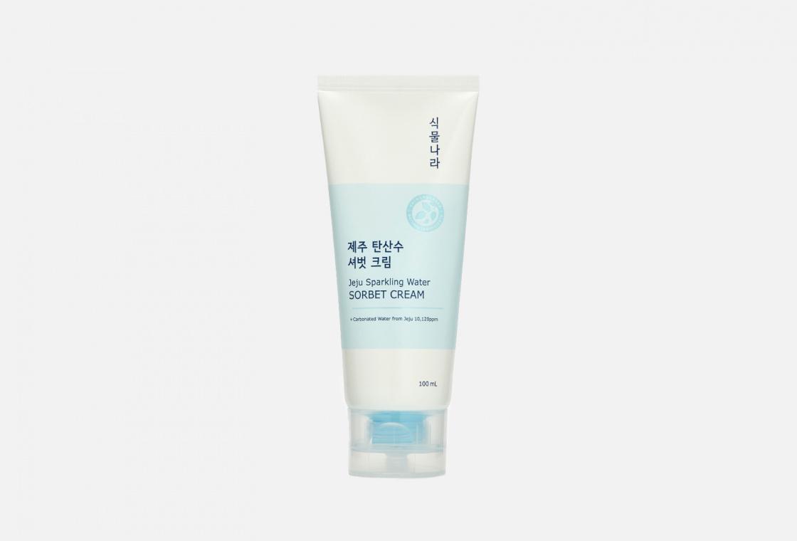Охлаждающий крем-сорбет с термальной водой Shingmulnara Jeju Sprakling Water