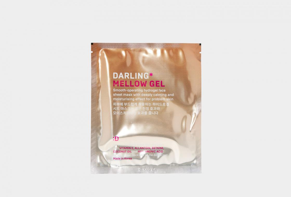 Мягкая успокаивающая маска-желе для проблемной кожи DARLING* Mellow Gel SMOOTHE-OPERATING HYDROGEL MASK