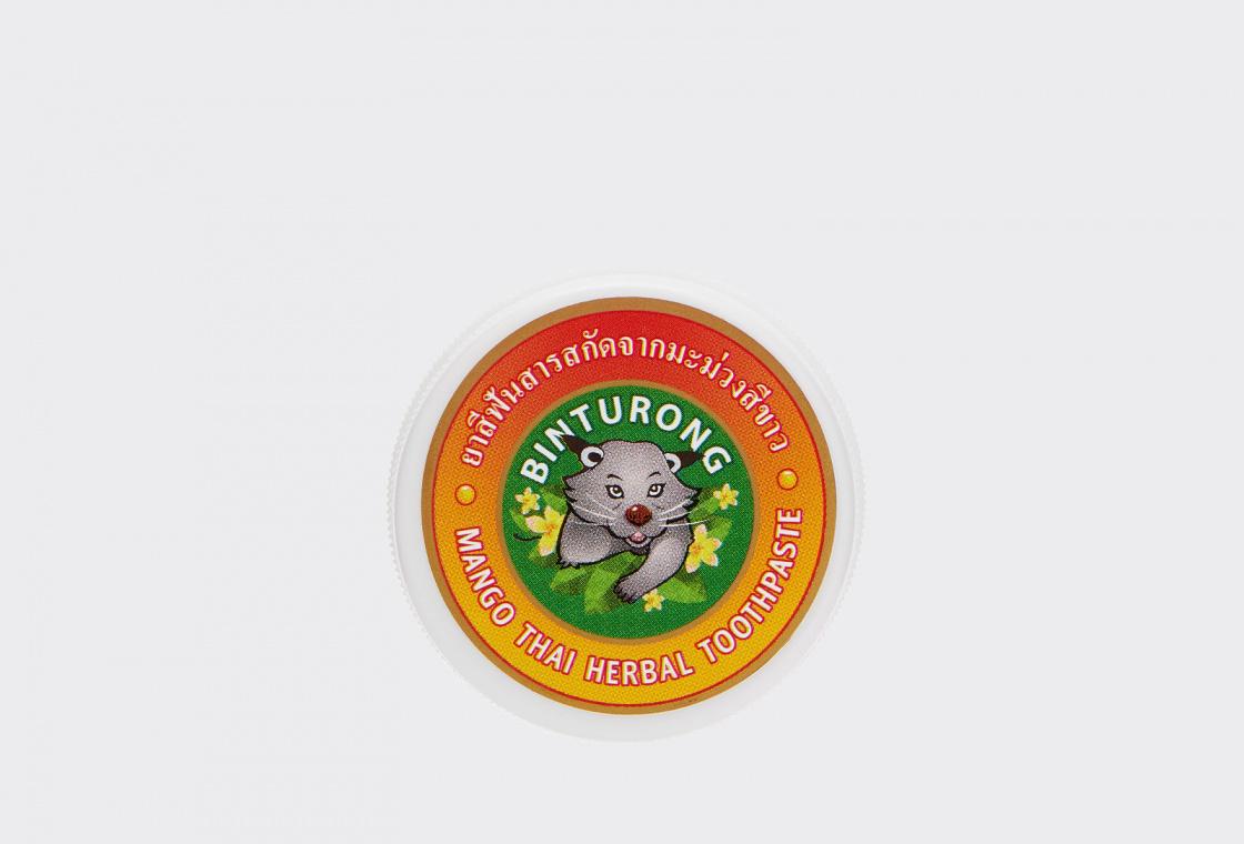 Зубная паста с Манго  Binturong Mango Thai Herbal Toothpaste