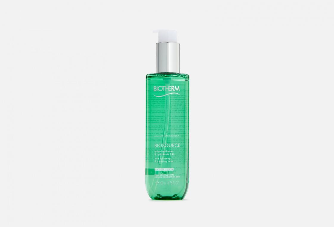 Тоник для лица увлажняющий, для нормальной и комбинированной кожи Biotherm BIOSOURCE TONER