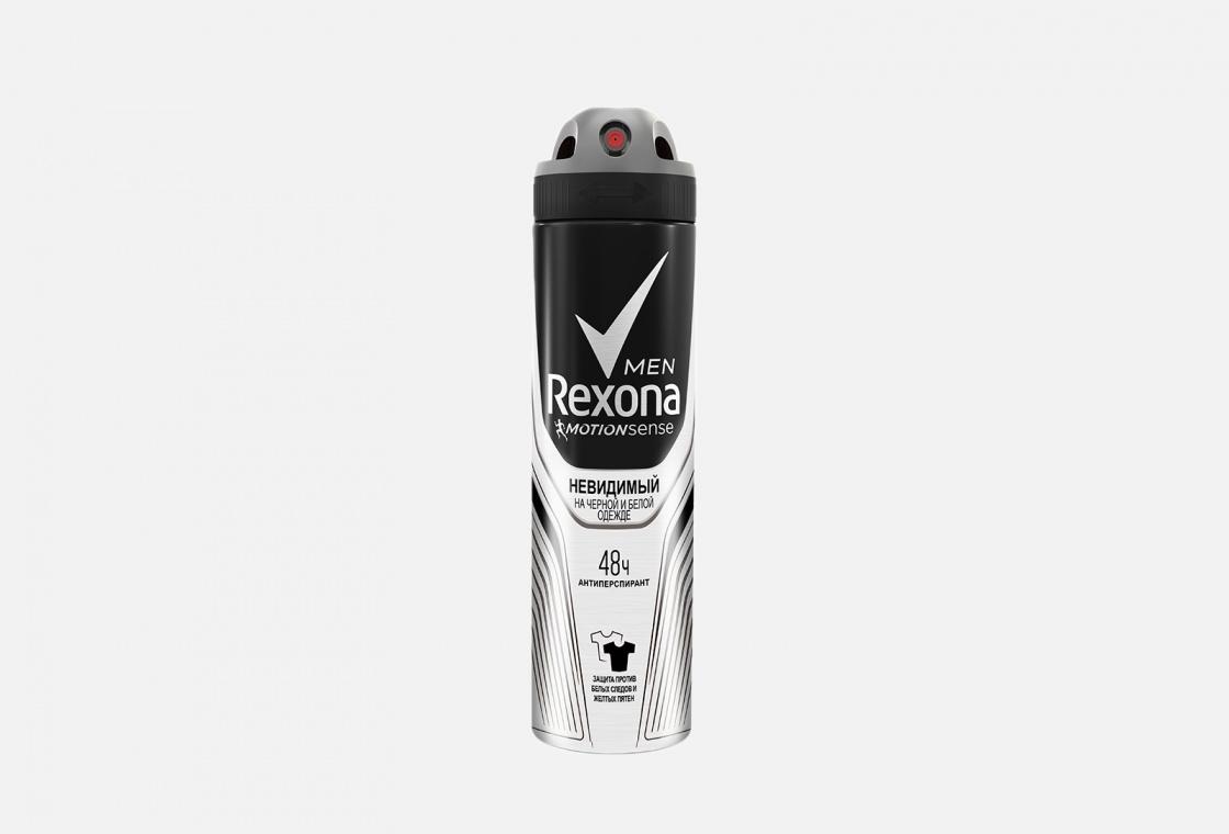Антиперспирант спрей Rexona Invisible для черного и белого