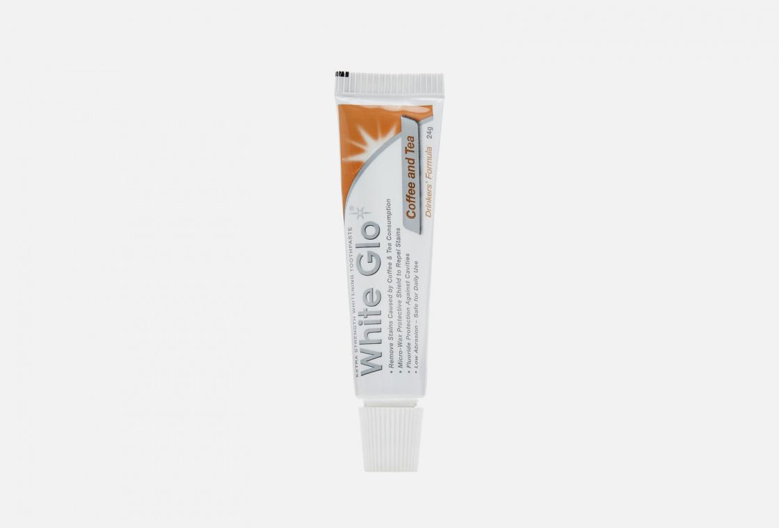 Отбеливающая зубная паста White Glo Coffee & tea