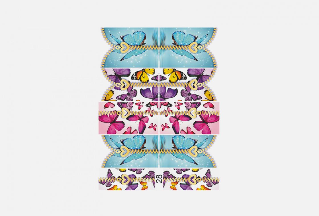 Слайдер-дизайн для ногтей Krimle 28