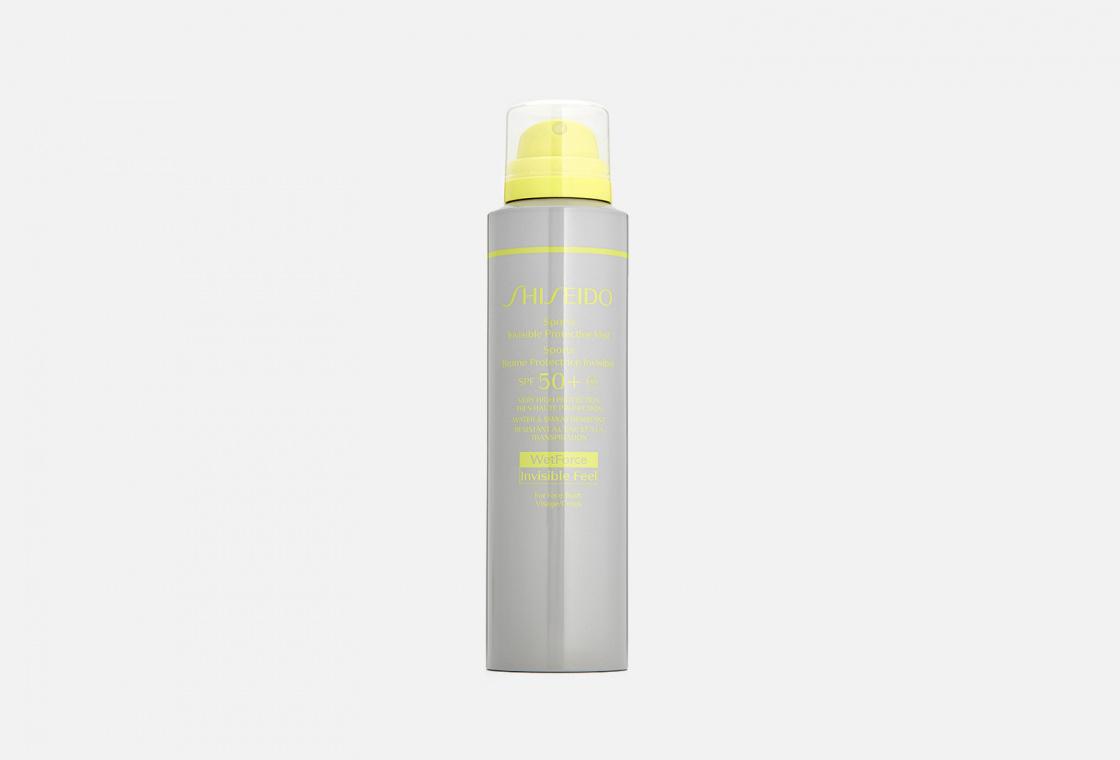 Невидимый солнцезащитный мист SPF 50 Shiseido Sports