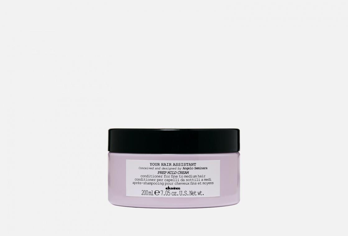 Мягкий кондиционер для подготовки волос к укладке Davines Prep mild cream