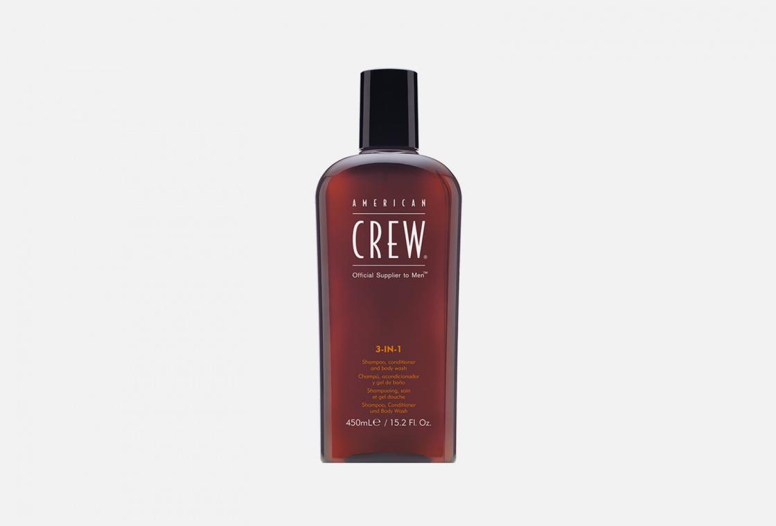 Шампунь кондиционер и гель для душа 3в1 AMERICANCREW Classic 3-in-1 Shampoo, Conditioner and Body Wash