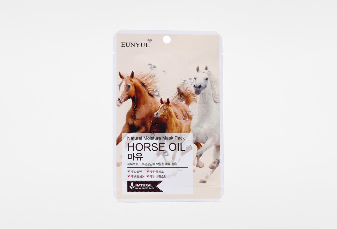 Питательная маска EUNYUL Natural Moisture Mask Pack Horse Oil