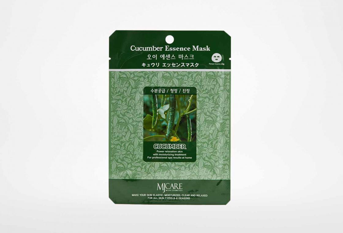 Маска тканевая огурец  Mijin Care Cucumber Essence Mask