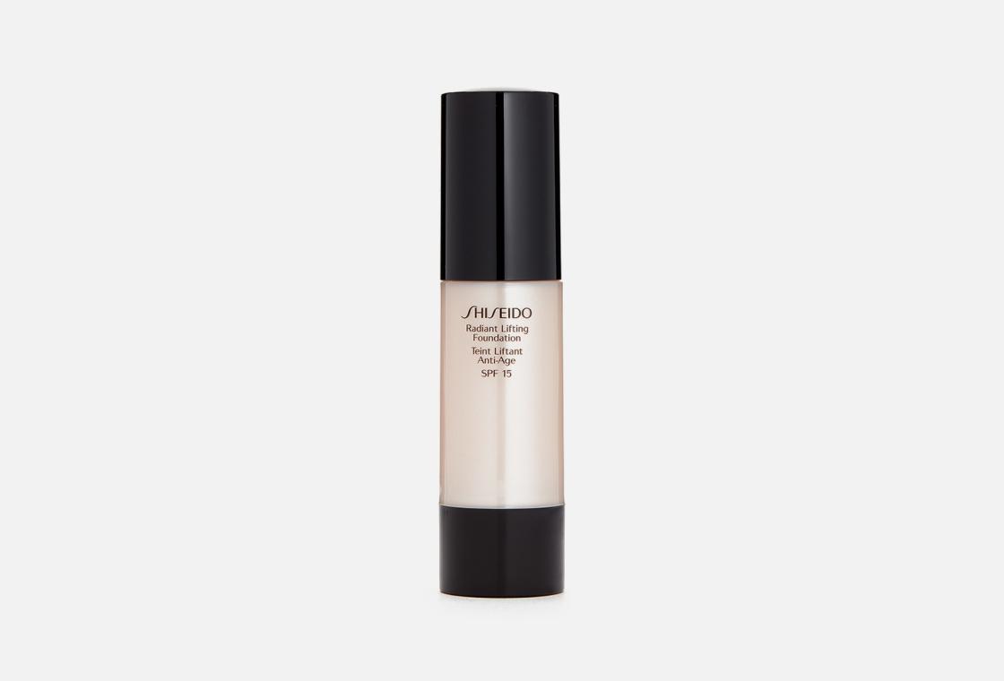 Тональное средство с лифтинг-эффектом, придающее коже сияние Shiseido Radiant Lifting Foundation SPF15