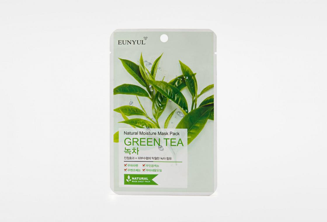 Антивозрастная маска EUNYUL Natural Moisture Mask Pack Green Tea