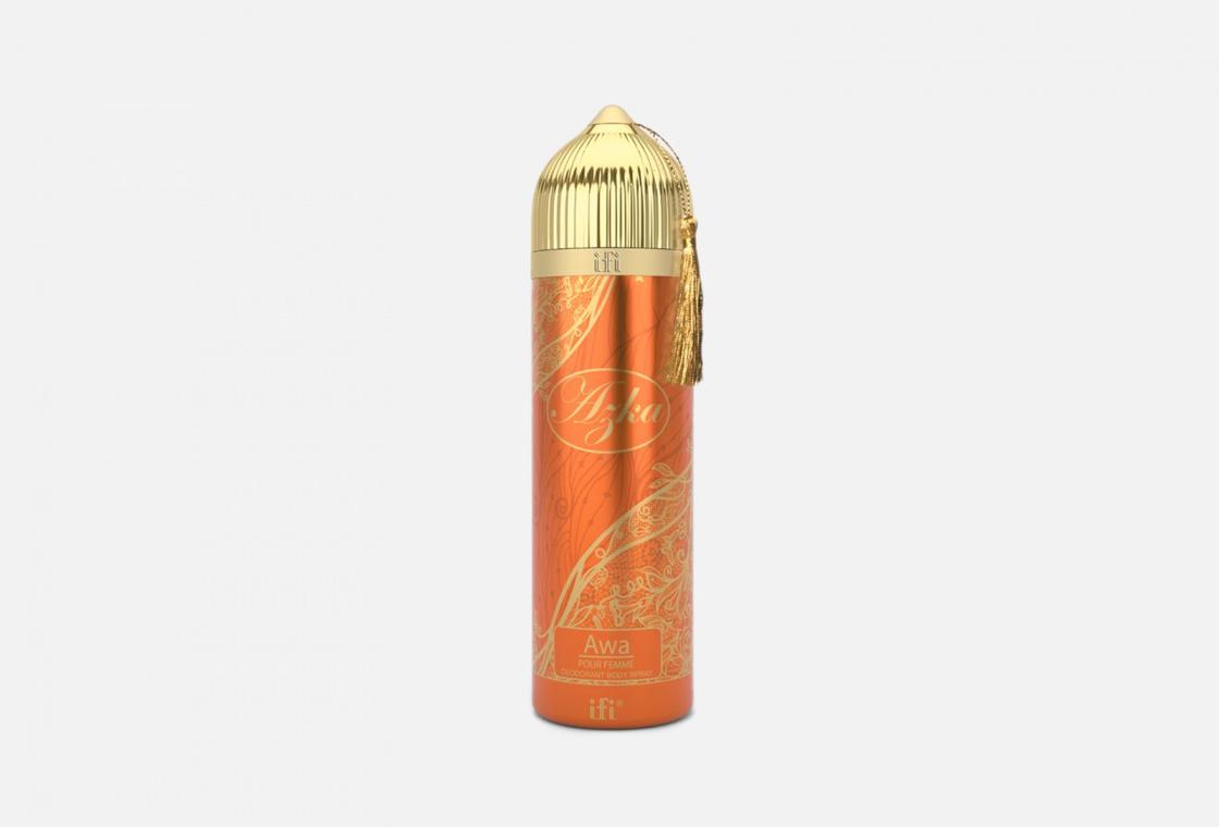 Дезодорант-спрей Azka Парфюмированный дезодорант — купить в интернет-магазине «Золотое яблоко»