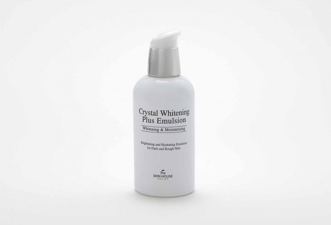 Осветляющая эмульсия The Skin House CRYSTAL WHITENING PLUS EMULSION