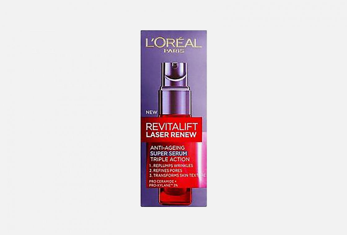 Омолаживающая сыворотка для лица L'Oreal Paris Revitalift Лазер х3