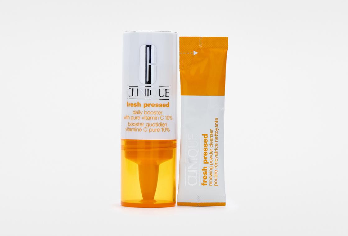 Недельная система ухода за кожей  Clinique Fresh Pressed 7-Day System with Pure Vitamin C