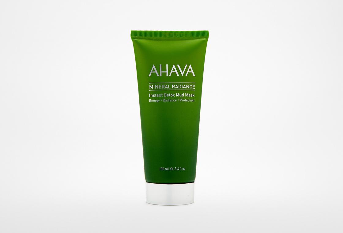 Минеральная грязевая маска выводящая токсины и придающая коже сияние  AHAVA Mineral Radiance
